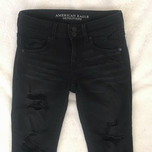 American Eagle Outfitters Jeans - American Eagle Black Distressed Jeans